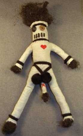 фото вуду кукла